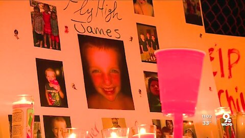 Middletown mourns death of 6-year-old James Hutchinson