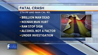 Brillion man dead in Brown County crash - Video