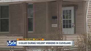 Three dead, nine injured during violent Christmas weekend in Cleveland - Video