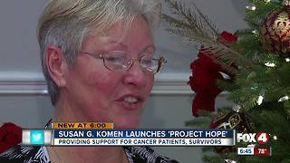 Susan G. Komen Launches 'Project Hope' - Video