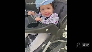 Pasco County toddler with cerebral palsy takes first steps after multiple brain surgeries