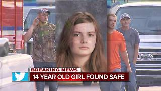 Missing 14-year-old Emily Pennington found safe - Video