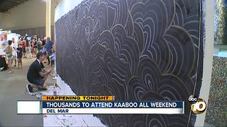 Thousands to attend KAABOO this weekend - Video