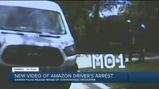 Warren police launch internal investigation after black Amazon driver's arrest caught on cam