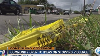 Community open to ideas  on stopping violence - Video
