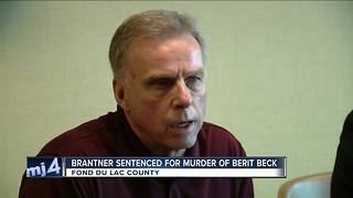 Brantner sentenced for murder of Berit Beck - Video