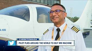 WNY Pilot flies plane around the globe - Video