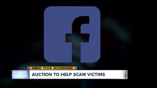 Twinsburg police hold auction for scam victims - Video