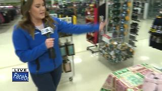 Gifts for Teens drive at shopko - Video