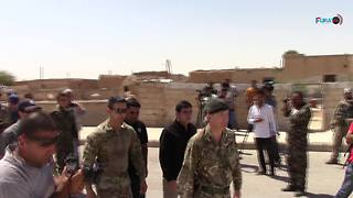 Deputy Commander of US-Led Coalition Against Islamic State Visits Raqqa Province - Video