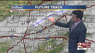 Saturday Evening Forecast - Video