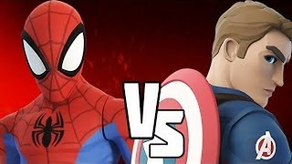 The Finger Family Song | Spiderman vs Captain America | Nursery Rhymes for Children & Kids Songs - Video