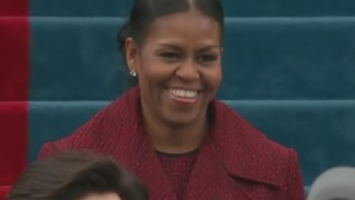 Presidential Inauguration 2017: Michelle Obama arrives for Donald Trump swearing-in - Video