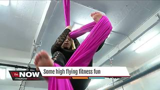 High flying, gravity defying fitness fun - Video
