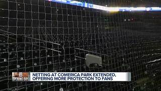 Extra safety at Comerica Park for Detroit Tigers Opening Day - Video