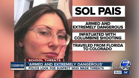 What we know about Sol Pais, woman accused of threats as school decisions will be made overnight