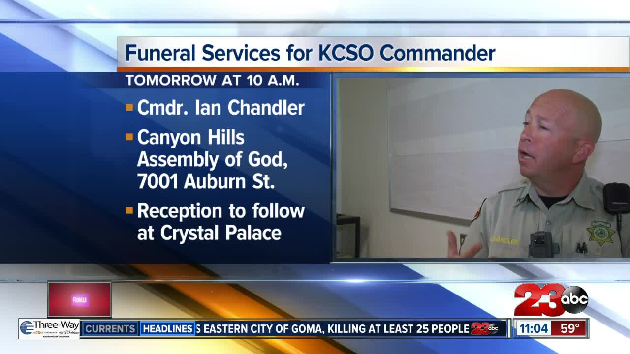 Funeral Services for KCSO Commander Ian Chandler