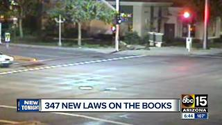 Arizona welcomes 347 new laws - Video