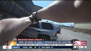 TPD releases video of fatal officer involved shooting - Video