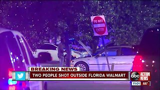 2 people shot at a Walmart in Broward County