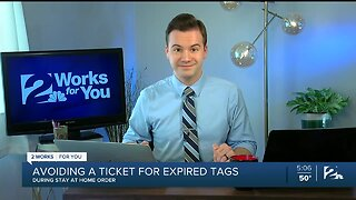 Avoiding A Ticket For Expired Tags During Stay At Home Order