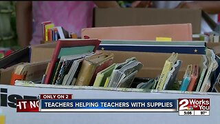 Teachers helping teachers with Give-N-Grab event