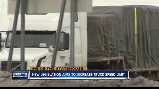 New legislation aims to increase truck speed limit - Video