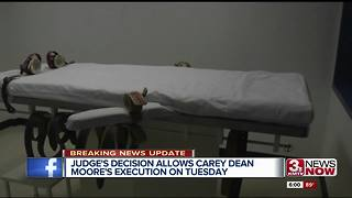 6PM UPDATE: Carey Dean Moore execution ordered to proceed - Video