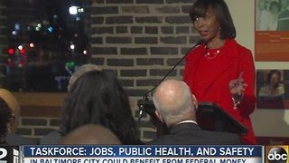 Baltimore task force lobbies for federal funds - Video