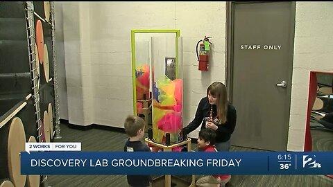 Groundbreaking Friday at Discovery Lab In Tulsa