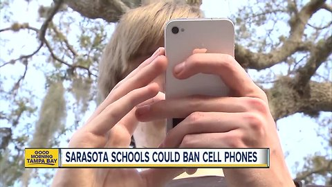 Florida leaders to discuss changes to Florida teacher licensing examSarasota Schools could ban students from having cell phones