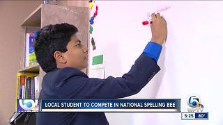 Local student to compete in National Spelling Bee
