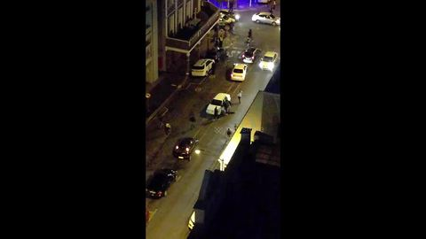 Chaotic scenes in central Cape Town after suspected shooting