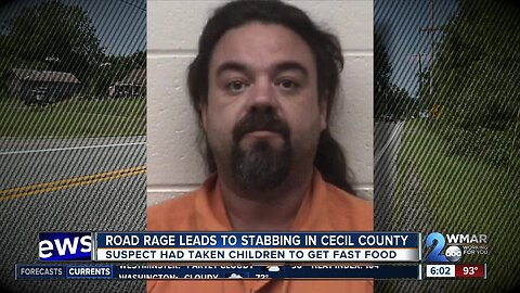 Road rage leads to stabbing in Cecil County