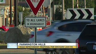 Road improvement proposal for Orchard Lake Rd in Farmington Hills