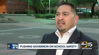 Arizona lawmakers pushing Governor for school safety measures - Video