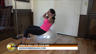ROBBIE RAUGH - WORKING YOUR ABS ON A BALL