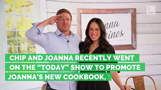 HGTV 'Fixer Upper' Star Chip Gaines Makes Hilarious Confession About Joanna's Pregnant Body - Video