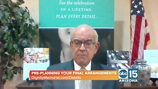 Dignity Memorial talks about the importance of pre-planning your final arrangements