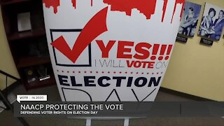Detroit NAACP to monitor polling locations for voter intimidation on Election Day