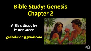 Bible Study Genesis Chapter 2 Explained