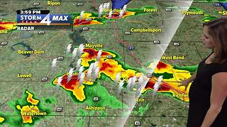 Severe weather in our area - Video