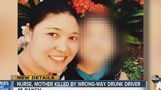 Nurse, mother killed by wrong-way driver - Video