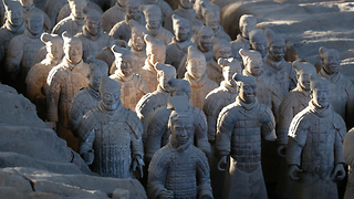 Terracotta Army marches to Cincinnati for the first time - Video