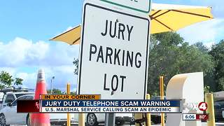 Jury Duty scam alert - Video