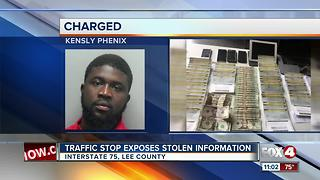 Stolen information discovered during I-75 traffic stop - Video