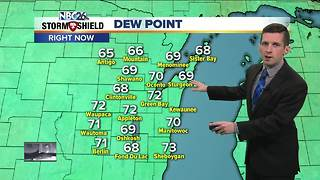 Humid and stormy Thursday - Video