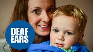 NHS say young boy isn't deaf enough - Video