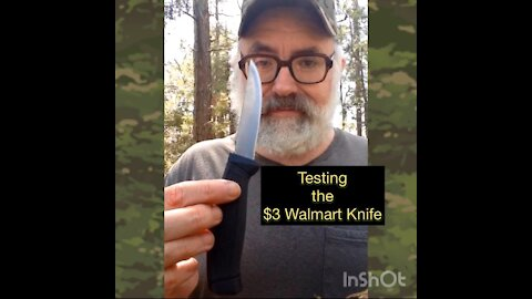 Testing the $3 Walmart Knife