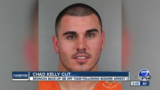 Denver Broncos waive backup quarterback Chad Kelly following trespassing arrest